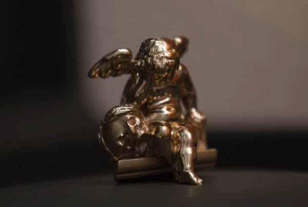L'Ange Pleureur - Or 18 carats
